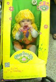Cabbage Patch Kid Halloween Costume Cabbage Patch Doll Box Halloween Costume