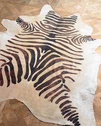 Animal Shaped Area Rugs by Animal Rugs Cowhide U0026 Zebra Rugs At Neiman Marcus Horchow