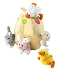 stuffed bunnies for easter easter plush toys hearthsong