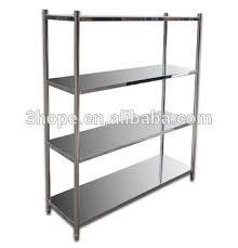 Kitchen Metal Shelves by Used Stainless Steel Shelving Restaurant Kitchen Stainless Steel