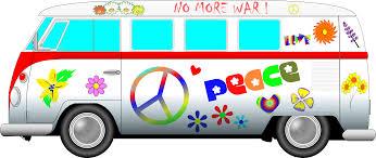 volkswagen van hippie vw van clipart 57