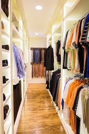 standing closet rack with traditional closet and ceiling lighting