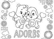 Are Bears Color Blind Care Bears Love Autumn Care Bears Activity Ag Kidzone