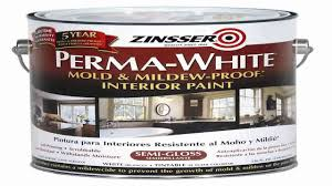 rust oleum 02761 perma white mold mildew proof interior paint