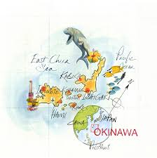 Okinawa Map Jane Webster U2013 The Aoi