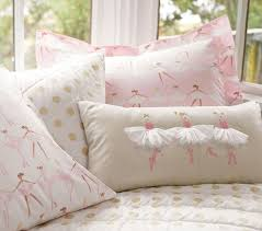Girls Quilted Bedding by Gold Polka Dot Quilt Pottery Barn Kids
