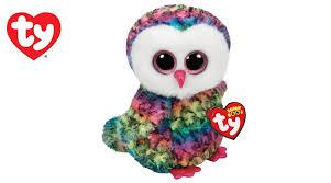 browse toys ty beanie boo medium owen owl planet fun