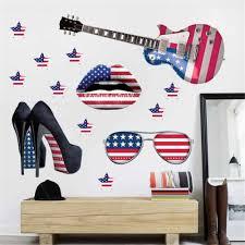 online shop home wall decor art guitar wall stickers diy home
