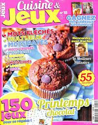 abonnement magazine de cuisine cuisine jeux magazine