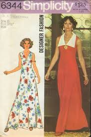 v shaped dress pattern simplicity 6344 vintage sewing patterns fandom powered by wikia