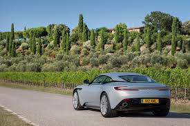 green aston martin db11 2017 aston martin db11 first drive automobile magazine