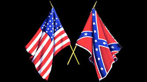 Confederate Flag And Union Flag The Battle Cry Of Freedom