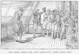 captain smollett in treasure island character u0026 quotes study com