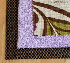 Diy Kitchen Rug How To Make A Custom Kitchen Rug The Crafty Stalker