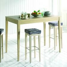 table de cuisine haute avec tabouret table de cuisine haute table ronde avec rallonge somum