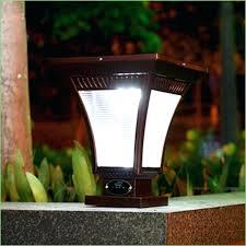 Solar Powered Outdoor Lighting Fixtures Solar Powered Outdoor L Post Light Lighting Solar Garden L