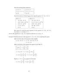 mathematics 9 quadratic equations and inequalities