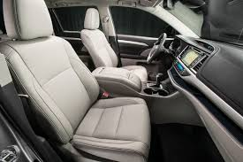 Toyota Highlander Interior Dimensions 2018 Toyota Highlander Review Specs Price And Release Date The