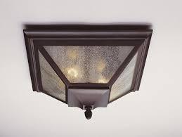 Outdoor Ceiling Light Motion Sensor Flush Mount Outdoor Lighting Motion Sensor How To Install Flush