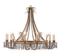 Tole Chandelier David Iatesta Furniture U2022 Accessories U2022 Lighting U2022 Textiles U2022 Sold