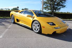 used lamborghini prices 2001 lamborghini diablo stock c566 for sale near sarasota fl