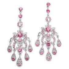 Pink Chandelier Earrings Pink Chandelier Earrings Zeige Earrings