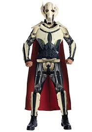 star wars costumes deluxe general grievous costume mens star wars costumes