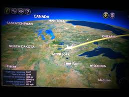 Daylight World Map by Review Of British Airways Flight From London To Los Angeles In