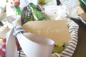 virginia gift baskets salamander wedding welcome gift basket marigold grey