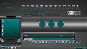 alien new windows blind theme