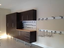 windswept bronze cabinets with maple butcher block workbench omni