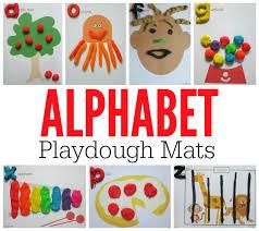 printable alphabet mat alphabet playdough mats free printable mats