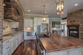 kitchen blocks island kitchen 35 beautiful rustic kitchens design ideas designing idea
