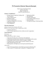 resume objective for promotion 2014 fl event marketing and promotional resume promotional