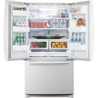 samsung french door refridgerator samsung rf266aewp white pearl french door refrigerator 26 cu ft