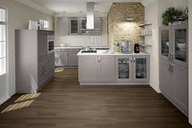 Grey Shaker Kitchen Cabinets kitchen stone feature wall google search kitchen makeover