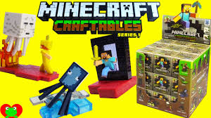 Minecraft Blinds Minecraft Craftables Series 1 Blind Box Buildable Figures