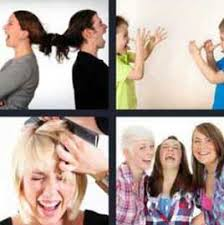 4 pics 1 word 3 women laughing what u0027s word answers