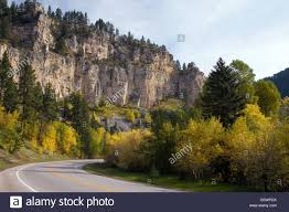 South Dakota scenery images Spearfish canyon scenic byway black hills national forest south jpg