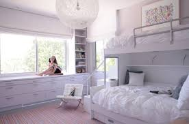 Bunk Bed Room Bedroom Design Contemporary Bedroom In White With Plush