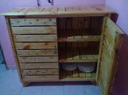 kitchen cabinets from pallet wood pallet kitchen cabinet sideboard easy pallet ideas