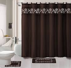 Matching Shower Curtain And Window Curtain Kashi Home Shower Curtains Shower Curtains Outlet