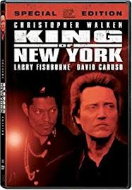 amazon com king of new york special edition christopher walken