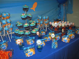 1st Birthday Decoration Ideas At Home Finding Nemo First Birthday Party Ideas Home Party Ideas