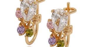 earrings beautiful 24k gold earrings tanishq gold ring cad