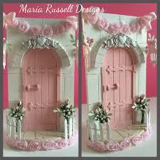 Fairy Door by Magical Fairy Door A Shabby Chic Christmas Project Youtube