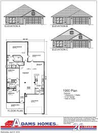 Breland Homes Floor Plans by Iredell Adams Homes
