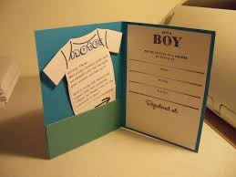 baby shower invitation ideas for a boy home made boy baby shower