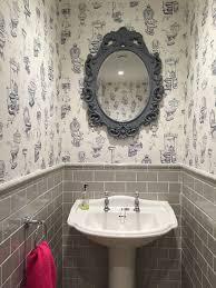 the 25 best small bathroom wallpaper ideas on pinterest powder