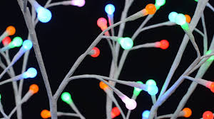 lighted twig tree with color changing led lights